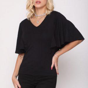 قميص ليندا الأسود