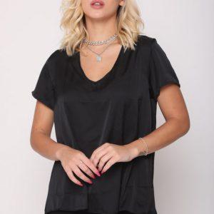 חולצה אלומה שחורה