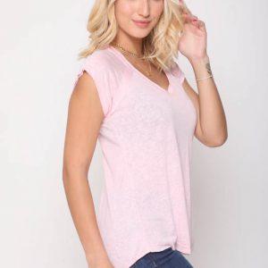 قميص الشرج الوردي