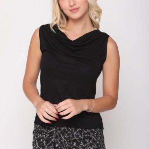חולצה אוריאנה שחורה