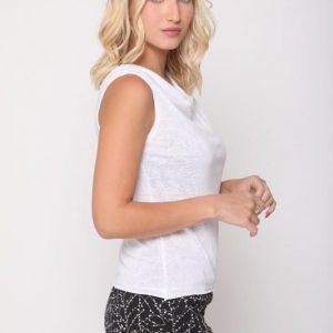 חולצה אוריאנה לבנה