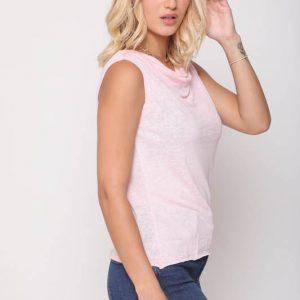 قميص أوريانا الوردي