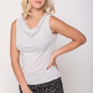 قميص أوريانا رمادي