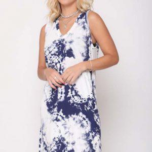 שמלה אירית כחול עננים
