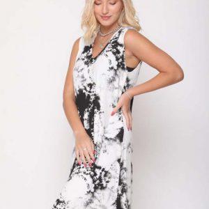 שמלה אירית שחור עננים