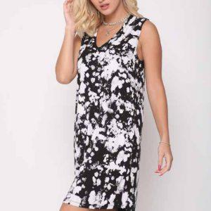 שמלה אירית שחור לבן
