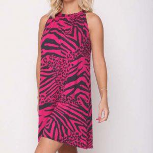 فستان من Maggie Fuchsia Zebra