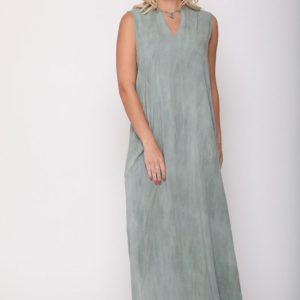 שמלה ונסה ווש ירוק